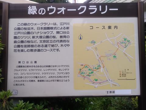 緑のウォークラリー 東京都文京区