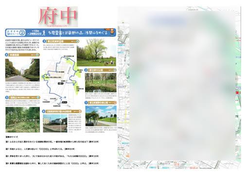 府中市散歩 多磨霊園と武蔵野の森、浅間山を巡る