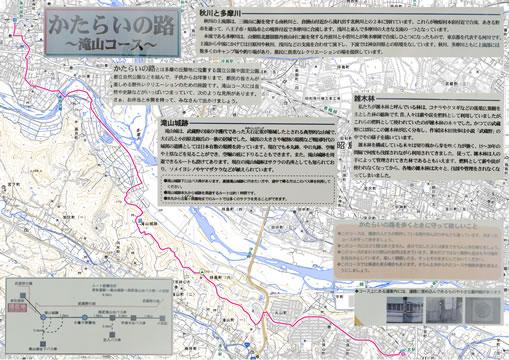 かたらいの路 滝山コース 東秋留駅~小宮駅
